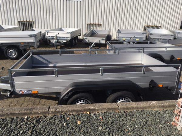 Anhänger mit Doppelachse SARIS FW2000 McAlu Pro
